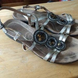 Clarks Women's Size 10 Sandals guc